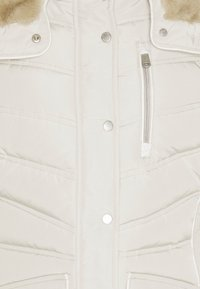 TOM TAILOR - SIGNATURE PUFFER COAT - Vinterkåpe / -frakk - dusty alabaster