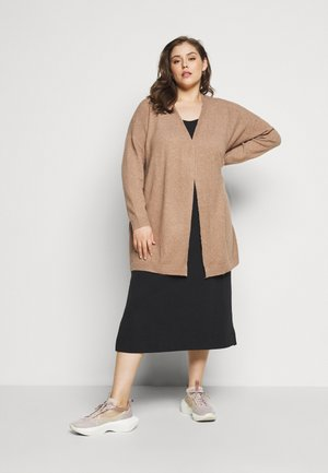 CARPRIMEUS CARDIGAN - Cardigan - brownie