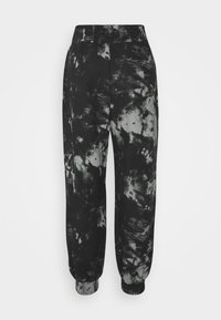 KENDALL + KYLIE - OVERSIZED HIGH RISE - Tracksuit bottoms - black/grey - 7