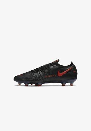 PHANTOM GT ELITE FG - Moulded stud football boots - black/dark smoke grey/chile red