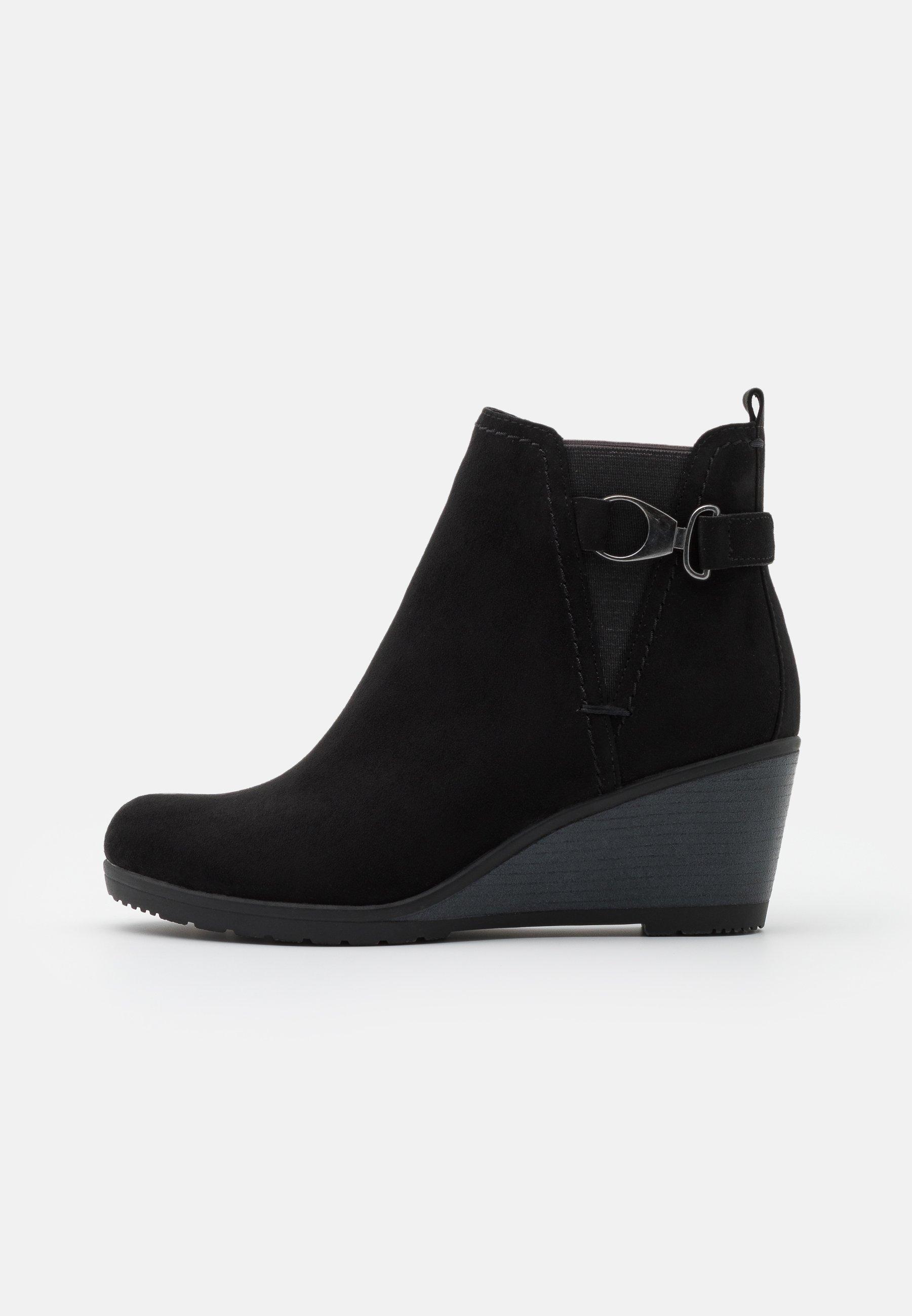 Keilstiefeletten für Damen   Schuhe shoppen leicht gemacht