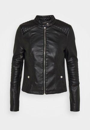 VMLOVECINDY COATED JACKET - Faux leather jacket - black