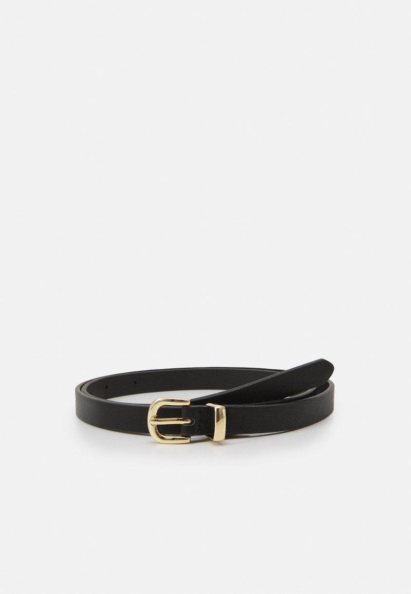 Fire & Glory - FGMEAGAN JEANS BELT  - Belt - black/gold-coloured