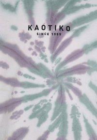 Kaotiko - CREW TIE DYE SPIRAL UNISEX - Mikina - purple - 6