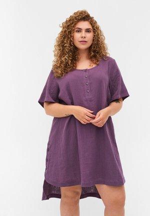 KORTÆRMET  - Tunika - vintage violet