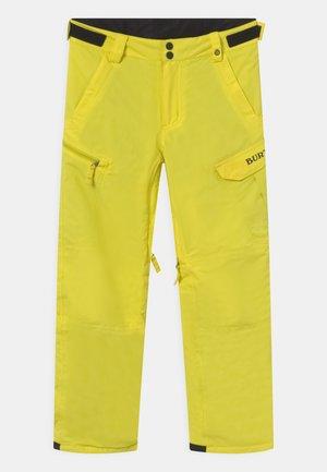 BOY EXILE - Zimní kalhoty - sulphur yellow
