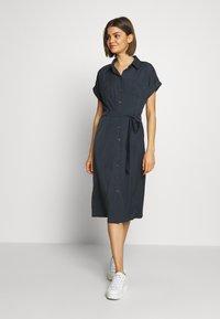 ONLY - ONLHANNOVER SHIRT DRESS - Skjortekjole - india ink - 0