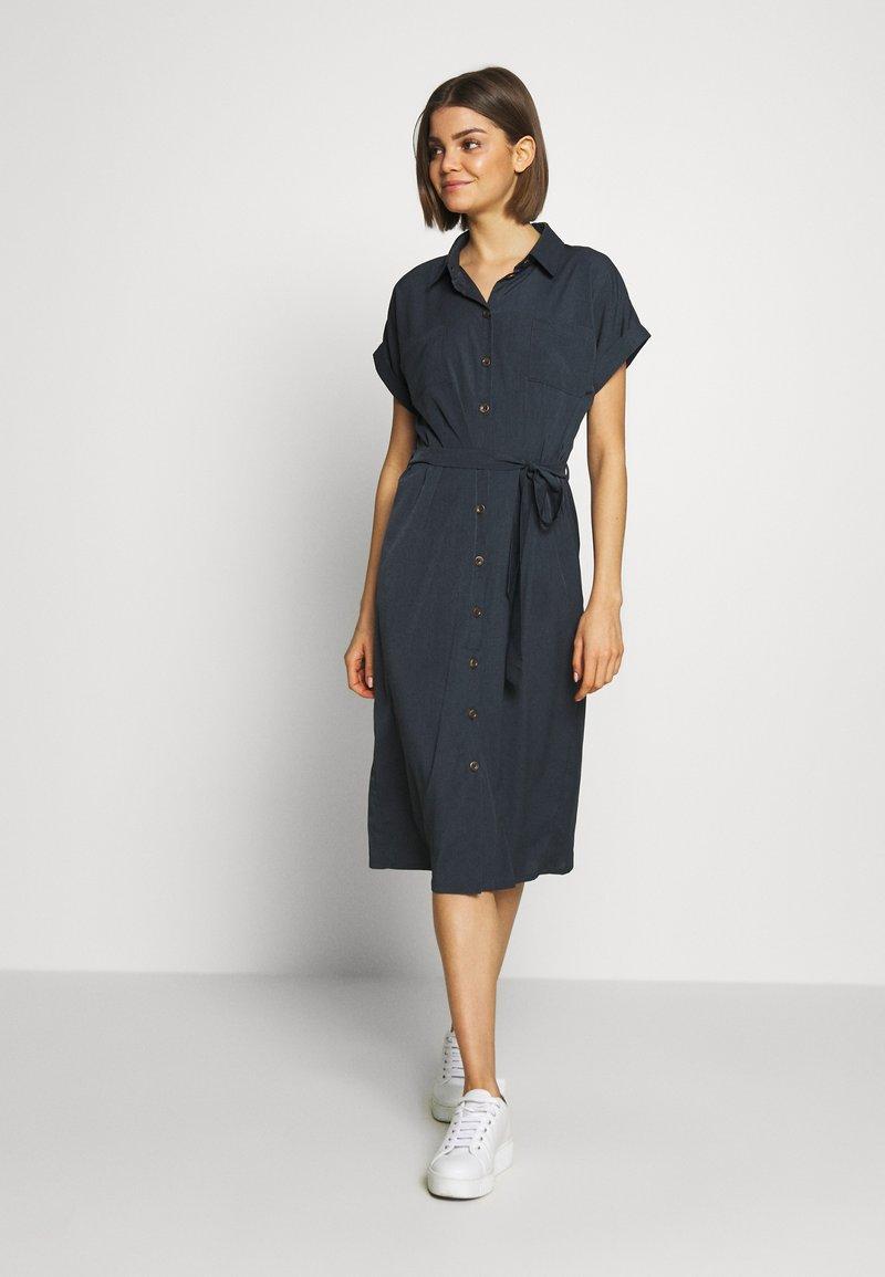 ONLY - ONLHANNOVER SHIRT DRESS - Skjortekjole - india ink