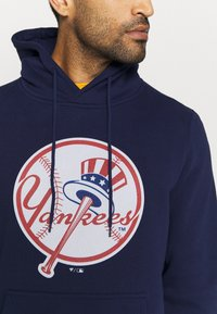 Fanatics - MLB NEW YORK YANKEES ICONIC PRIMARY COLOUR LOGO GRAPHIC HOODIE - Club wear - navy - 5