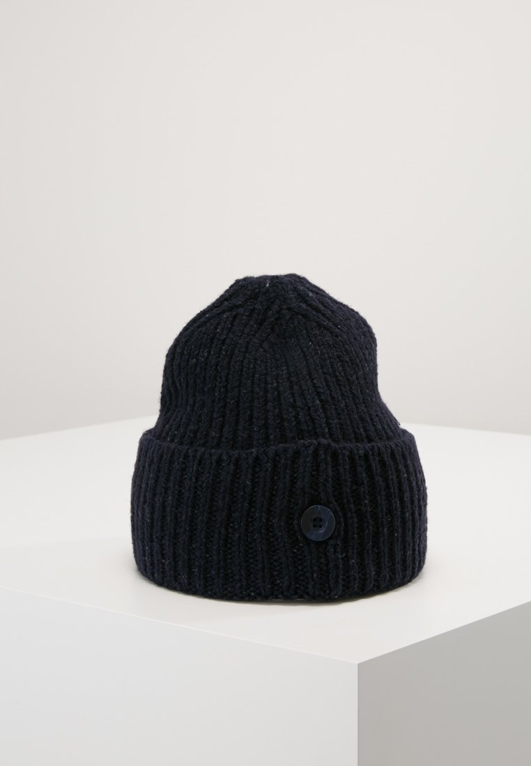 Carhartt Wip Anglistic Beanie - Mütze Dark Navy Heather/dunkelblau