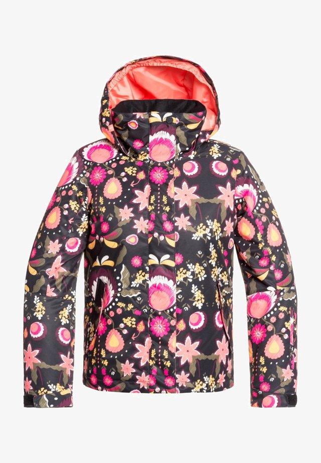 JETTY  - Snowboard jacket - black