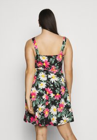 Dorothy Perkins Curve - STRAPPY FLORAL DRESS - Day dress - multi-coloured - 2