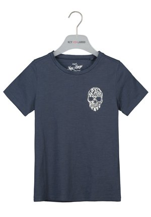 BRONCO  - Print T-shirt - dark blue