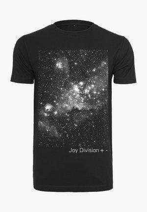 JOY DIVISION + - - Print T-shirt - black