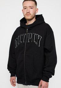 Multiply Apparel - Zip-up sweatshirt - black - 0