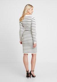 Ripe - GRID DRESS - Fodralklänning - white/black - 2
