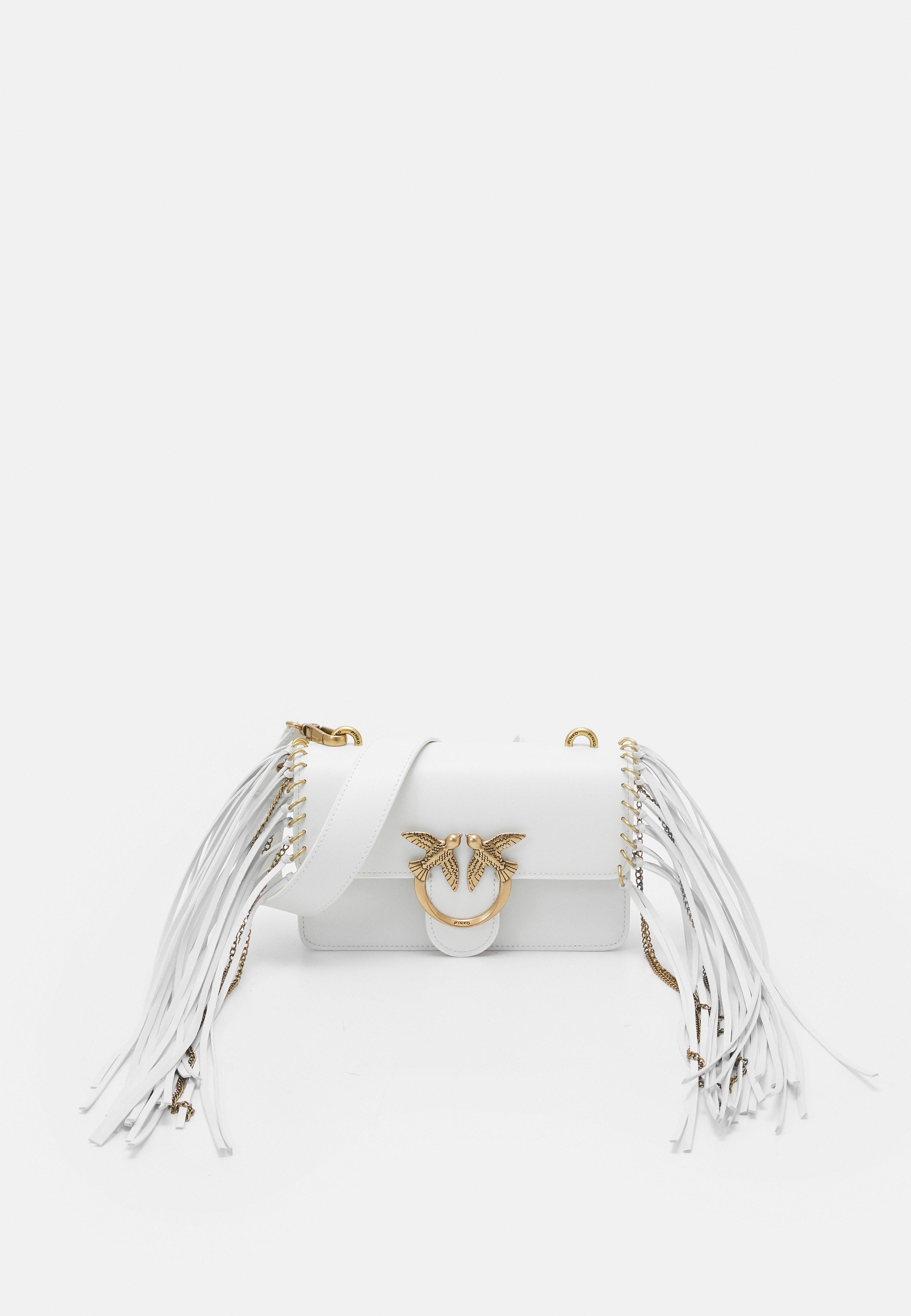 Women EXCLUSIVE LOVE MINI ICON FRINGES - Across body bag