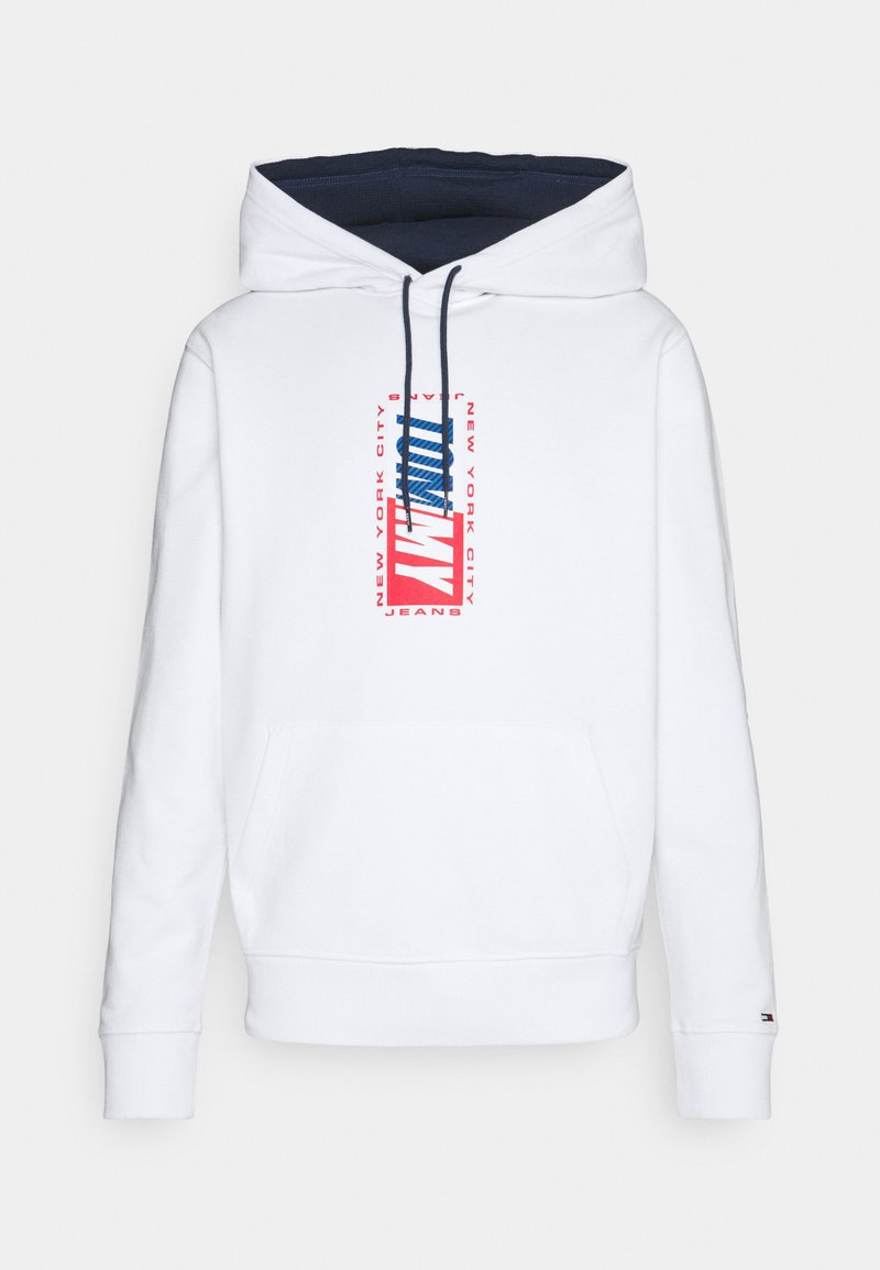 Tommy Jeans - ESSENTIAL HOODIE - Mikina - white