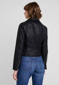 ONLY - ONYFILIPPA - Faux leather jacket - black - 2