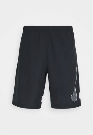 DRY ACADEMY SHORT - Korte broeken - black/white/iron grey