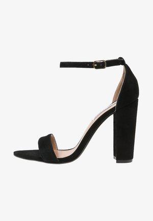 CARRSON - Sandály na vysokém podpatku - black