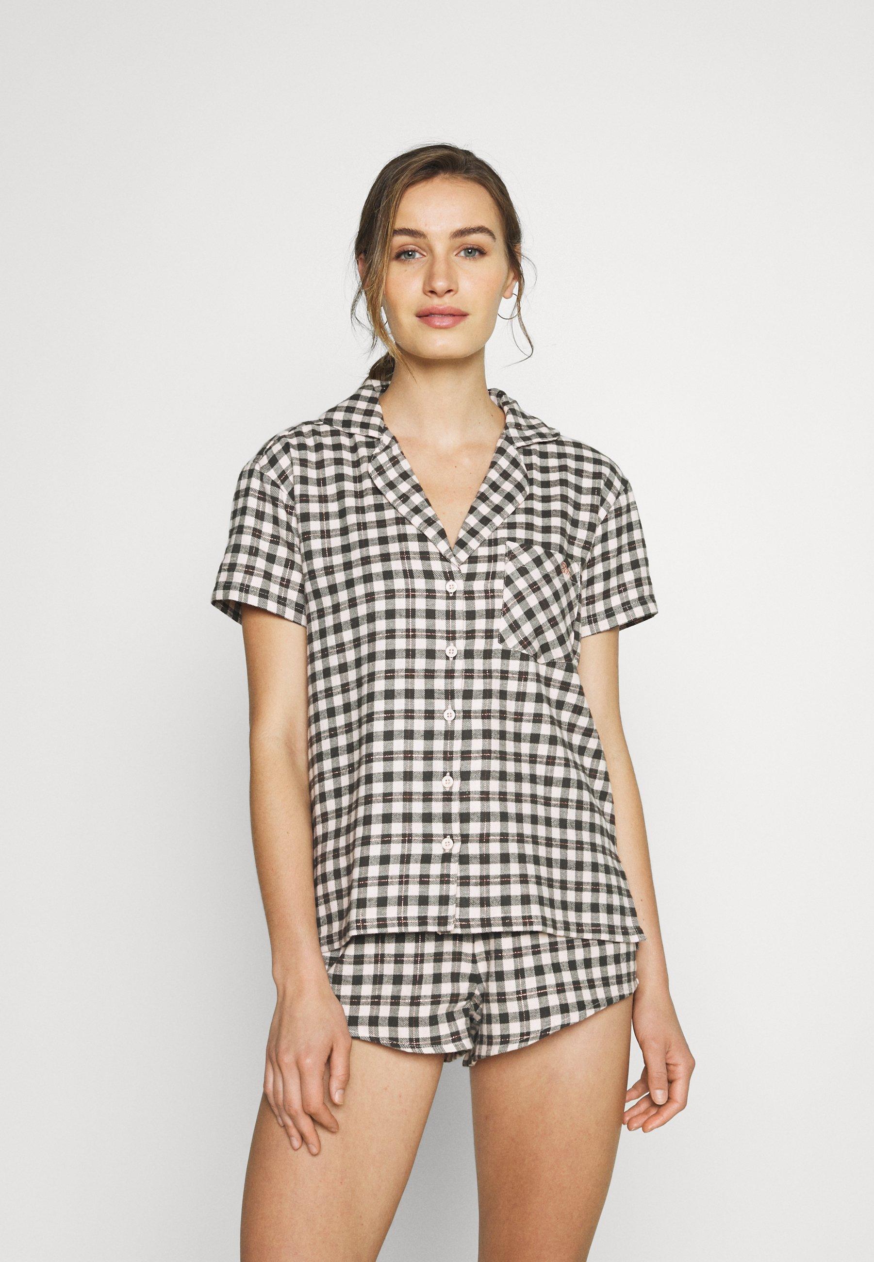 Damen GINGHAM SHORTIE - Pyjama