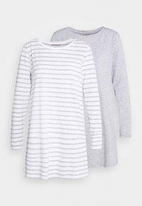2 PACK - Nightie - light grey