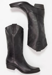 Felmini - GERBERA - Cowboy- / bikerstøvler - lavado black - 3