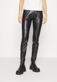 Herrlicher - TOUCH - Trousers - black - 0