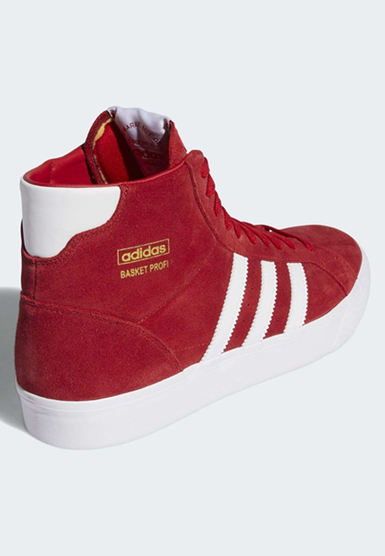 Adidas Originals Basket Profi Shoes - Sneakers High Red