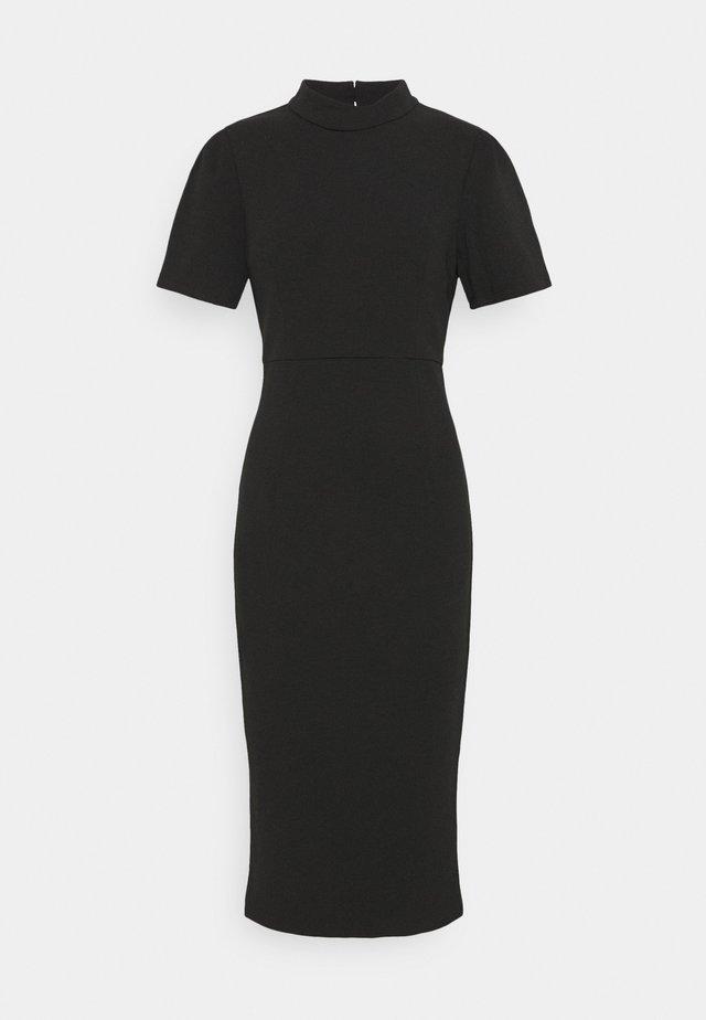 A MOMENT IN TIME DRESS - Vestito di maglina - black