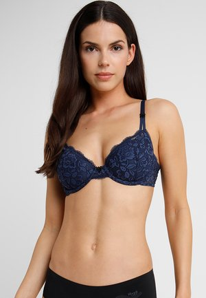 LIGHTLY LINED DEMI MODERN BEAUTY - Underwired bra - navy