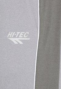 Hi-Tec - RAY JOGGERS - Tracksuit bottoms - grey - 4