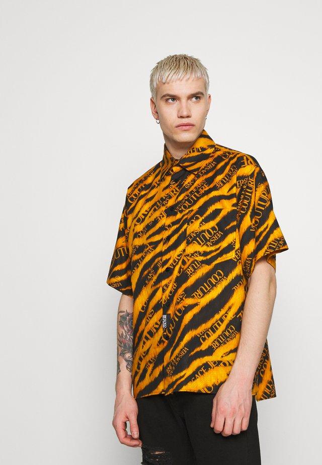 TIGER PRINT - Camicia - black