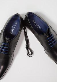 Azzaro - OUTINOR - Smart lace-ups - noir - 5