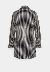 Missguided Petite - DOUBLE BREASTED DOGTOOTH BLAZER DRESS - Day dress - black - 1