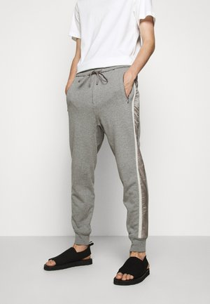 COMBO - Tracksuit bottoms - mottled grey