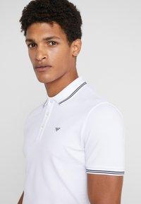 Emporio Armani - Poloshirt - bianco ottico - 4