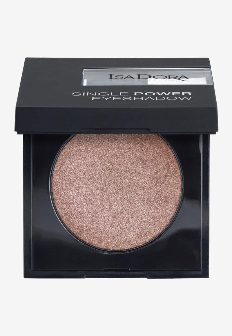 IsaDora - SINGLE POWER EYESHADOW - Eye shadow - pink sand