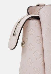 Guess - DAYANE TRIPLE SATCHEL - Handbag - blush - 3