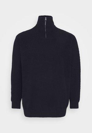 JPRBLUCARLIN HALF ZIP - Pullover - navy blazer
