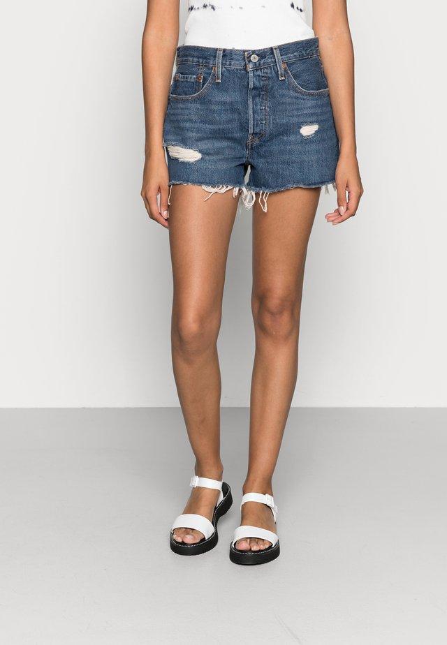 501 ORIGINAL  - Shorts di jeans - silver lake
