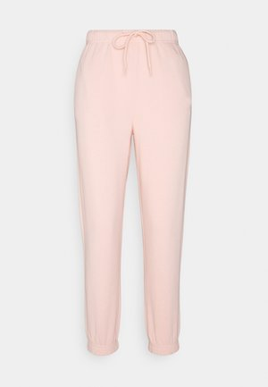PCCHILLI PANTS - Tracksuit bottoms - peachy keen