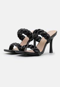 RAID - GEMMA - Heeled mules - black - 2