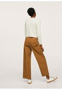 Mango - Trousers - medium brown - 4