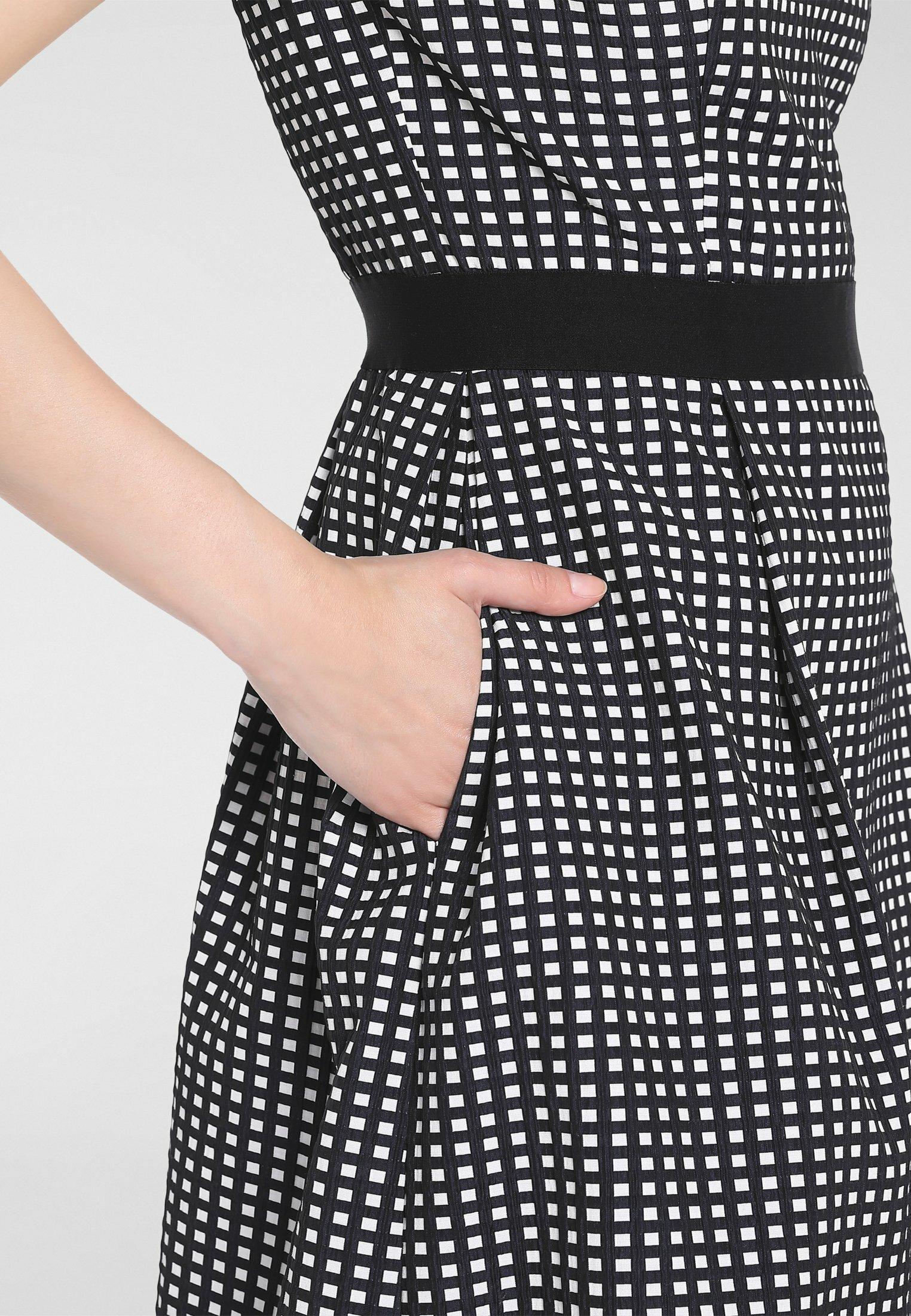 Super Specials Women's Clothing Apart Day dress nachtblau-creme 1vvOoUEEp