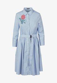 Apart - Robe chemise - weiß-blau - 2