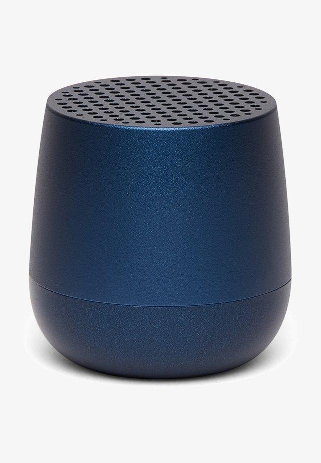 MINO  - Speaker - dunkel blau