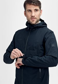 Mammut - CONVEY TOUR HOODED JACKET MEN - Veste Hardshell - marine - 5