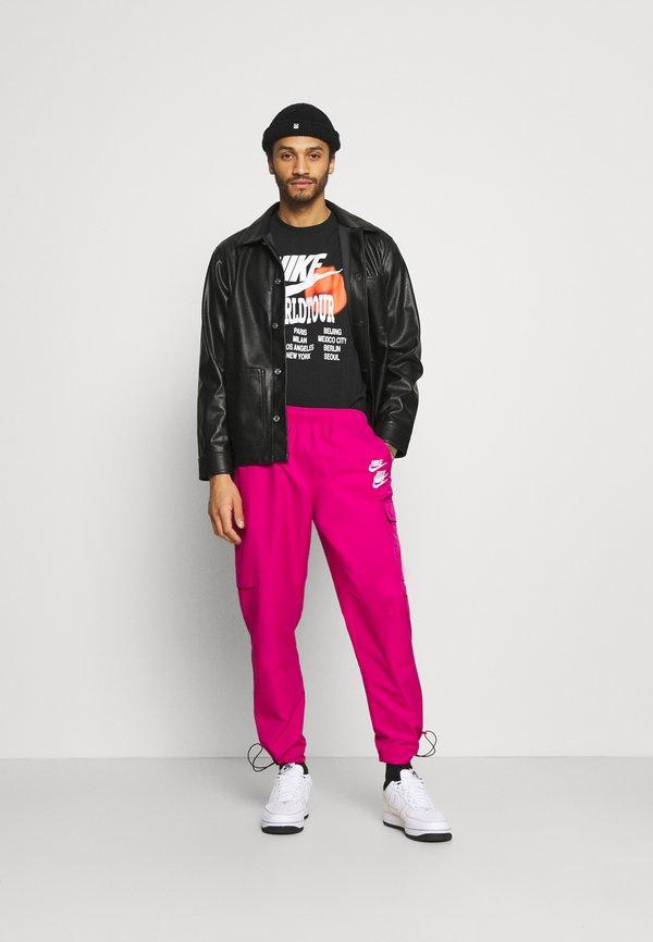 Nike Sportswear PANT - BojÓwki - fireberry/rÓżowy Odzież Męska IHII